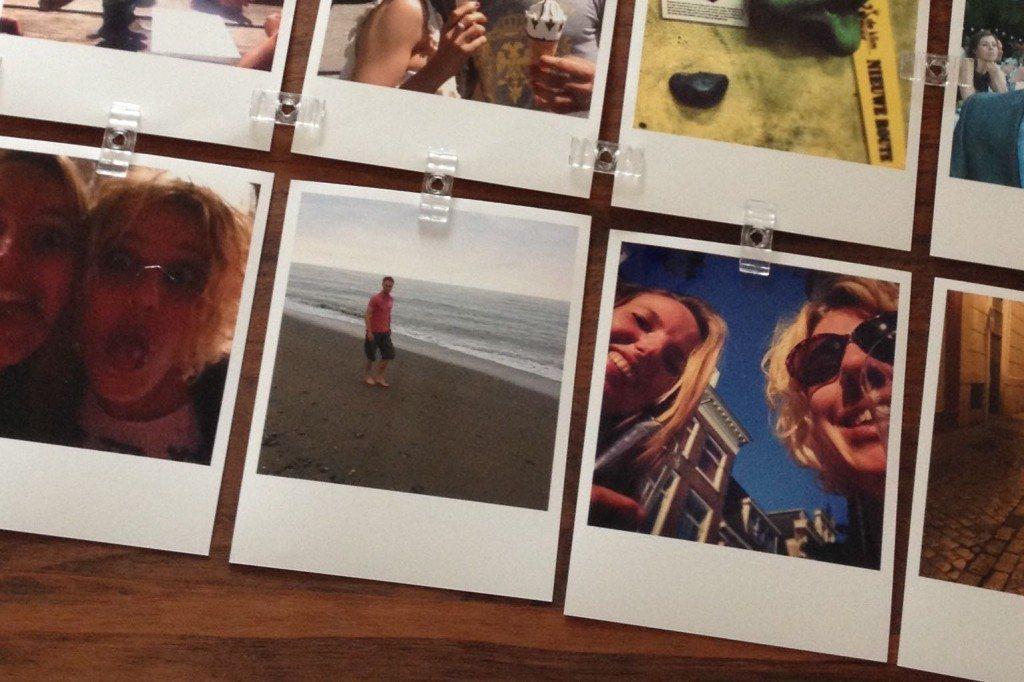0cf1b2229442eb 12x DIY Polaroid reisfotomuur inspiratie